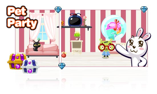 pet party online