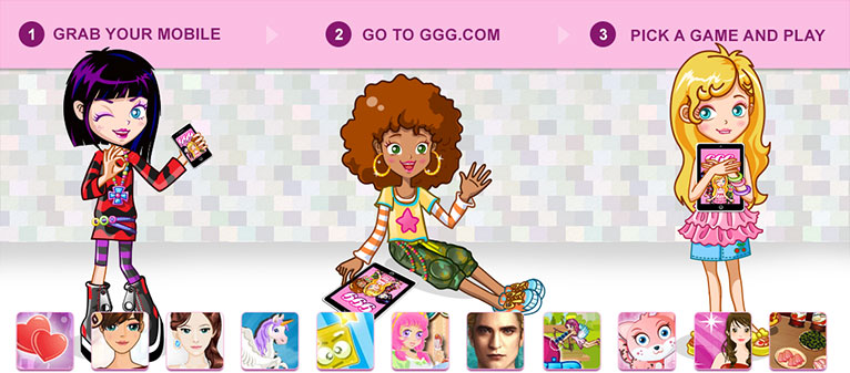 Girls go games dress up