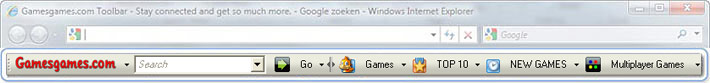 Get the Gamesgames Toolbar now!